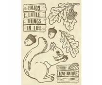Stamperia Wooden Shapes A6 Squirrel (KLSPA607)