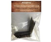 Stamperia Corner Fasteners (6pcs) (SBA401)