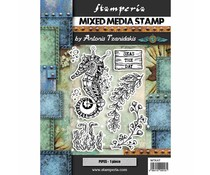 Stamperia Mixed Media Stamp Seahorse (WTKAT11)