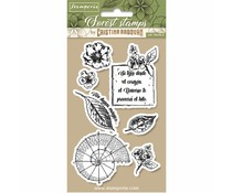 Stamperia Natural Rubber Stamp Botanical (WTKCCR08)