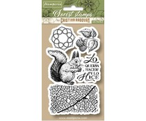 Stamperia Natural Rubber Stamp Squirrel (WTKCCR11)
