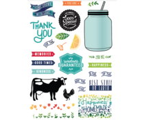 LDRS Creative Homegrown With Love Clear Stamps (LDRS3200)