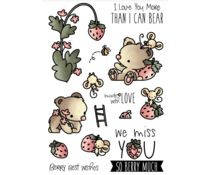 LDRS Creative Strawberry Patch Clear Stamps (LDRS3205)