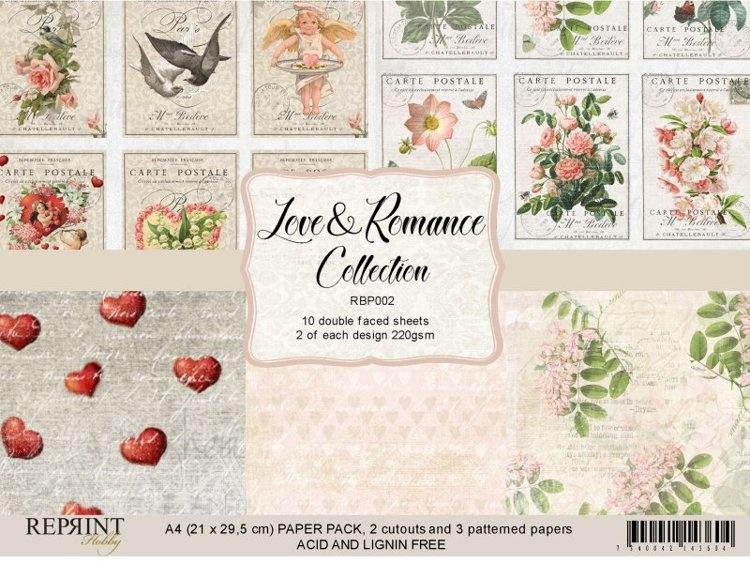 Authentique Romance 12 x 12  Collection Kit Love