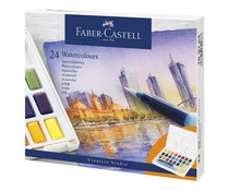 Faber Castell Watercolour Paint Box (24pcs) (FC-169724)