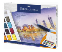 Faber Castell Watercolour Paint Box (36pcs) (FC-169736)