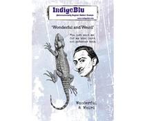 IndigoBlu Wonderful and Weird A6 Rubber Stamp (IND0596)