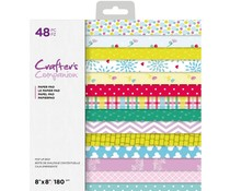 Crafter's Companion Pop Up Boxes 8x8 Inch Paper Pad (CC-PAD8-POPB)