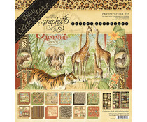 Graphic 45 Safari Adventure 12x12 Inch Deluxe Collector's Edition (4502022)