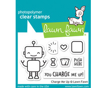 Lawn Fawn Charge Me Up Clear Stamps (LF1774)