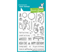 Lawn Fawn Really High Five Clear Stamps (LF2215)
