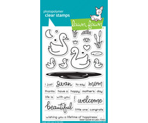 Lawn Fawn Swan Soiree Clear Stamps (LF2219)