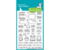 Lawn Fawn Say What? Spring Critters Clear Stamps (LF2228)