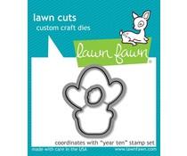 Lawn Fawn Year Ten Dies (LF2237)
