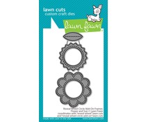Lawn Fawn Reveal Wheel Circle Add-On Frames: Flower and Sun Dies (LF2254)