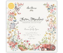 Craft Consortium Farm Meadow 6x6 Inch Paper Pad (CCPPAD015B)