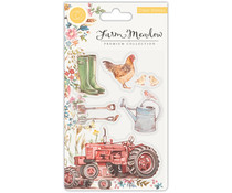 Craft Consortium Farm Meadow Clear Stamps (CCSTMP024)