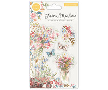Craft Consortium Florals Clear Stamps (CCSTMP027)
