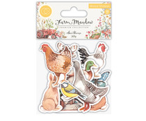 Craft Consortium Animals Wood Shapes (CCWDNS005)