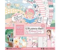 Stamperia Mi Primera Ilusión Niña 12x12 Inch Paper Pack (SBBL69)