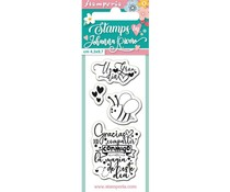Stamperia Bee Clear Stamps (WTKJR22)