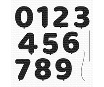 My Favorite Things Pumped-Up Numbers Clear Stamps (CS-472)