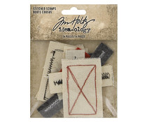 Idea-ology Tim Holtz Stitched Scraps (TH94035)