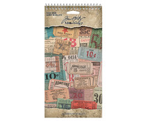 Idea-ology Tim Holtz Ticket Book (TH94036)