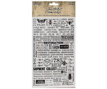 Idea-ology Tim Holtz Specimen Remnant Rubs (TH94047)
