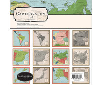 Carta Bella Cartography No.2 12x12 Inch Collection Kit (CBC116016)
