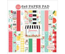 Carta Bella Summer Market 6x6 Inch Paper Pad (CBSUM115023)