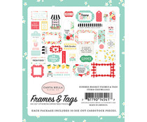 Carta Bella Summer Market Frames & Tags (CBSUM115025)
