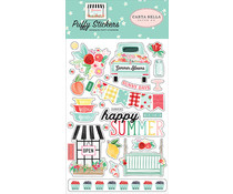 Carta Bella Summer Market Puffy Stickers (CBSUM115066\0