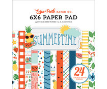 Echo Park Summertime 6x6 Inch Paper Pad (SUM209023)