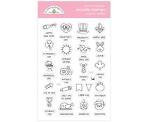 Doodlebug Design Occasions Holiday Doodle Stamps (6728)