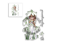 Polkadoodles Snowdrop Darling Bud Clear Stamps (PD8040)