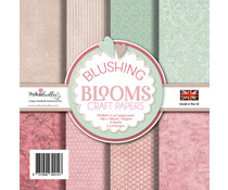 Polkadoodles Blushing Blooms 6x6 Inch Paper Pack (PD8044)