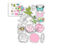 Polkadoodles Honey Rose Clear Stamps (PD8056)