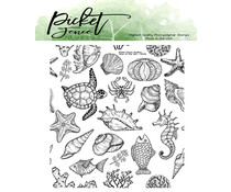 Picket Fence Studios View of the Sea Clear Stamps (OC-110)