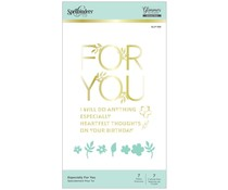 Spellbinders Especially For You Hot Foil Plate & Die Sets (GLP-168)