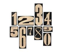 Idea-ology Tim Holtz Number Blocks (TH94037)