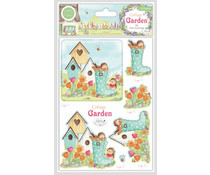 Craft Consortium Cottage Garden 3D Decoupage (CCDPAK003)