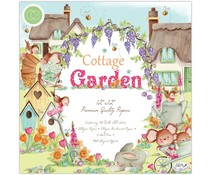 Craft Consortium Cottage Garden 12x12 Inch Paper Pad (CCPPAD016)