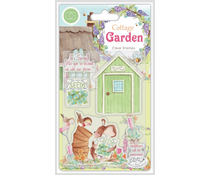 Craft Consortium Cottage Garden The Potting Shed Stamps (CCSTMP030)