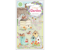 Craft Consortium Cottage Garden Birds and the Bees Stamps (CCSTMP031)