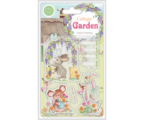 Craft Consortium Cottage Garden Green Fingers Stamps (CCSTMP032)