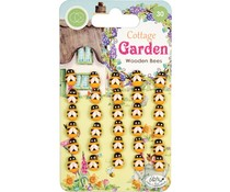 Craft Consortium Cottage Garden Wooden Bees (CCWDNS007)