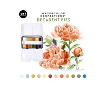 Art Philosophy Watercolor Confections Decadent Pies (584276)