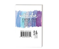 Art Philosophy Watercolor 2x3.5 Inch Paper Pad (847692)