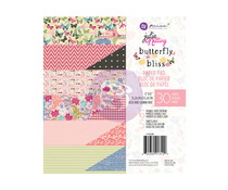 Prima Marketing Butterfly Bliss 6x6 Inch Paper Pad (913120)